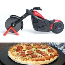 Motorcycle Pizza Cutter Wheel Chopper Slicer Stainless Steel Kitchen Tool Hot
