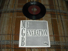 michael guthrie band athens ga. my generation bw/ big guitar 1987 45 record MINT