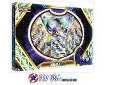 Lunala GX Box Collection Pokemon TCG 4 Booster Packs + Promo Card