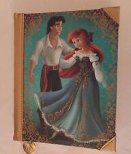 Disney The Little Mermaid Ariel+ Prince Eric Fairytale Couples Designer Journal