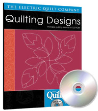 Electric Quilt Quiltmaker Quilting Designs Vol 1 Cd-Rom Collection