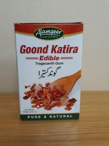 GOOND KATIRA Tragacanth Gum Edible  Premium Quality Alamgeer 100g