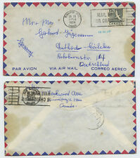 50376 - Kanada - Beleg - Winnipeg 26.11.1959 nach Eisleben