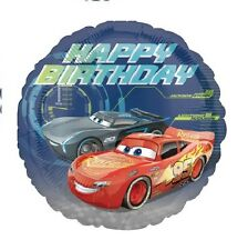Party Supplies Boys Birthday Disney Cars 45cm Foil Balloon