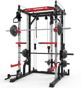 SmartFit M1 Multifunctional Trainer Squat Rack Smith Machine home gym