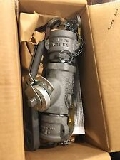 """Norriseal Dover 2"""" Aluminum Butterfly Valve With Camlock Disconnects"""