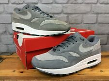 NIKE MENS UK 8.5 EU 43 AIR MAX 90/1 WHITE GOLD LEATHER TRAINERS RRP £125 LG