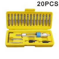 20Pcs/Set Drill Bit Set HSS High Speed Steel Screwdriver Bits Flip Box K0E3