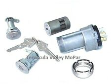 Ignition Switch - Bezel - Matched Ign & Door Locks Set for 1969 MoPar B-Body