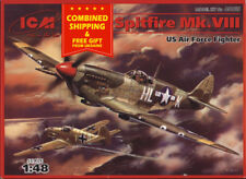 ICM 48065 - 1/48 Spitfire MK. VIII British Fighter Aircfraft, WWII plastic model