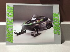 1993 Vintage Arctic Cat Snowmobile, The Intro To. 580 Zr Dealer Hand Out Sheet.