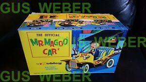 1961 Japan Hubley Mr Magoo Car BOX reproduction