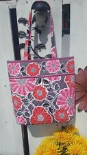 Beautful Vera Bradley Large Tote Great for summer get a ways pink , red & gray