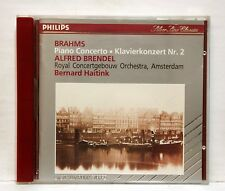 BRENDEL, HAITINK - BRAHMS piano concerto no.2 PHILIPS CD no IFPI full silver NM