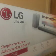 LG Sound Bar With Wireless Subwoofer SH5 320W Boxed