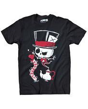 Akumu Ink - Herren Alice Tattoo T-Shirt - Tea Party (Schwarz) (S-XL)