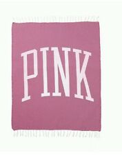 New! Victoria'S Secret Pink Dahlia Beach Blanket 2017 Limited Edition