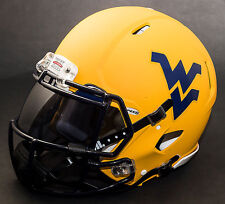 WEST VIRGINIA MOUNTAINEERS Authentic GAMEDAY Football Helmet w/OAKLEY Eye Shield