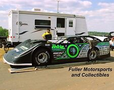 SCOTT BLOOMQUIST #0 DIRT LATE MODEL CAR 2007 8X10 PHOTO MILLER BROS COAL