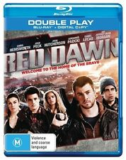 Red Dawn (Blu-ray, 2013, 2-Disc Set)