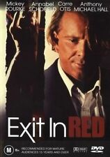 Exit In Red (DVD, 2003)*R4*Mickey rourke*Terrific Condition