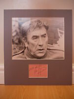 Signed & Mounted Frankie Howerd Card & photo display - Up Pompeii - C.O.A.