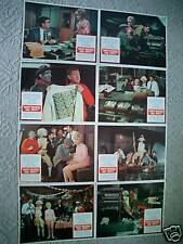 WHO'S MINDING THE MINT ~ORIGINAL~11X14  LOBBY CARD SET OF 8~JIM HUTTON & PROVINE