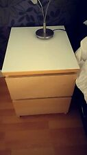 IKEA Glass Bedside Tables & Cabinets