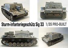 Sturm 33 German Tank WWII 1/35 Pro-Built