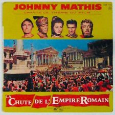 La chute de l'Empire Romain 45 tours Johnny Mathis