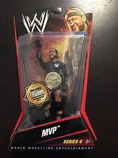 WWE Mattel MVP Series 4 Chase Belt 1 of 1000 #48 Wrestling Action Figure New