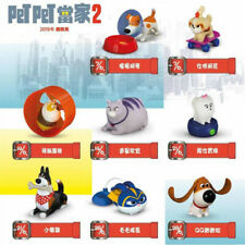 2019 The Secret Life of Pets 2  McDonalds Toys Complete Set 8 PCS NIP China