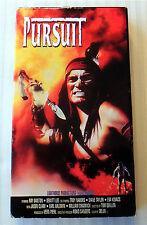 Pursuit ~ Rare OOP Western Movie ~ VHS Video Tape Ray Danton Dewitt Lee Apache