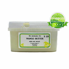 3 LB PURE RAW EXPELLER PRESSED ORGANIC MANGO BUTTER
