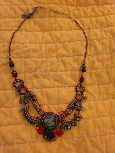 Ayala Bar Bead Necklace Beautiful Handcrafted New Without Tags