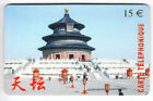 FRANCE TELECARTE / PHONECARD PREPAYEE .. 15€ CTD ASIE ASIA CHINE ORIENT PEKIN