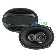 "MEMPHIS AUDIO 15-SRX693 200W MAX 6""X9"" THREE WAY CAR AUDIO COAXIAL SPEAKERS"