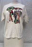 Vintage Japan Graphic T Shirt. Unisex Medium