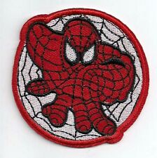 """Spider-Man Web Logo   2.5"""" Embroidered Patch (SMPA-01)"""