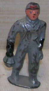Barclay Lead Figure #356 Train Brakeman with Lantern ~ Very Good