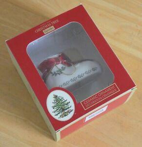 Spode Ceramic Christmas Tree Hanging Decoration - Baby's First Christmas (BNIB)
