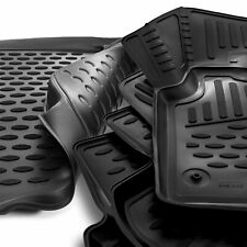 Fitted Rubber Boot & Floor Mat Set Land Rover Discovery Sport 14-19 Non-Adaptive