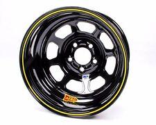 "AERO RACE WHEEL 52-18473 52 SERIES 15 x 8"" - 5 x 4-3/4"" -  3."" BACKSPACE BLACK"
