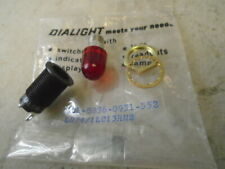 1 Ea Nos Dialight Red Panel Indicator Light Pn Lh741
