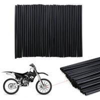 72PCS Black Spoke Guard Wrap Covers  For KTM EXC SX SXF XC XC-W 125 250 350 450