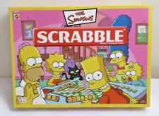 The SIMPSONS Scrabble Mattel Games 2005 edition *Complete*
