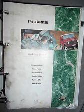 Land Rover FREELANDER : manual de taller reparación