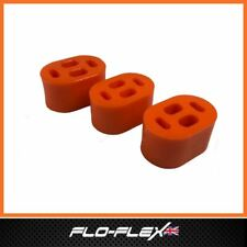 Land Rover Defender Exhaust Mounting Bushes x 3 in Poly Polyurethane Flo-Flex