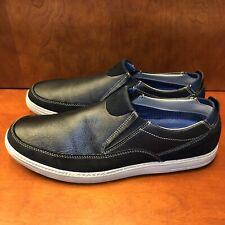 Skechers Dorven Malten Black Slip On Loafer Shoes 65136 US Men's 13
