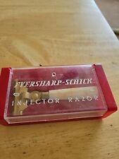 VINTAGE EVERSHARP SCHICK INJECTOR RAZOR IN ORIGINAL BOX NO  EXTRA BLADES